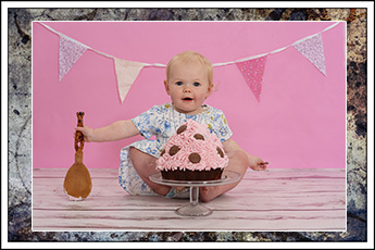 1st birthday photo shoot